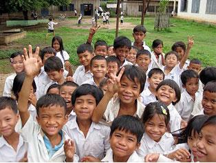 公益財団法人CIESF カンボジア 学校