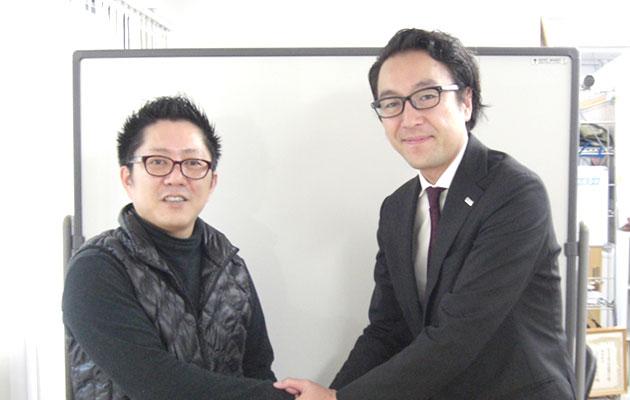 小倉 譲氏 黒川芳秋氏